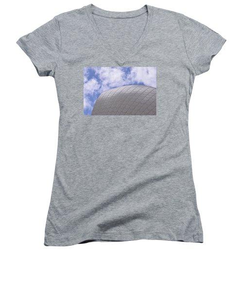 Sydney Opera House Roof Detail Women's V-Neck T-Shirt