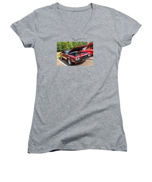 Hall County Sheriffs Office Show And Shine Car Show Women's V-Neck
