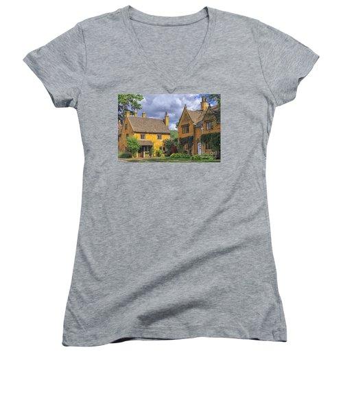 Broadway Village Women's V-Neck T-Shirt
