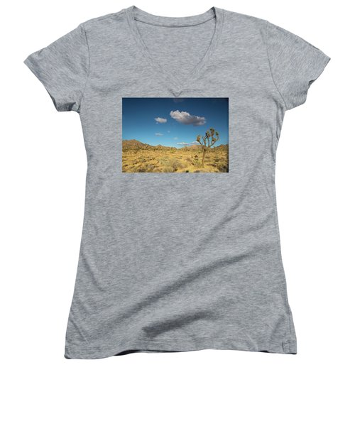 Joshua Tree Sunset Women's V-Neck