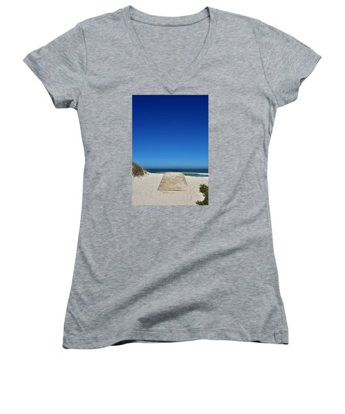 long awaited View Women's V-Neck T-Shirt (Junior Cut) by Werner Lehmann