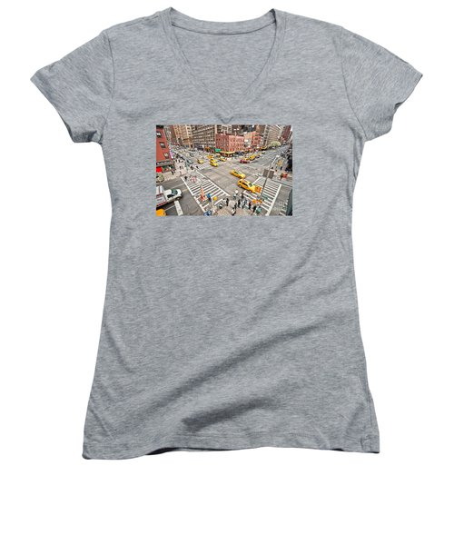 New York City Women's V-Neck T-Shirt