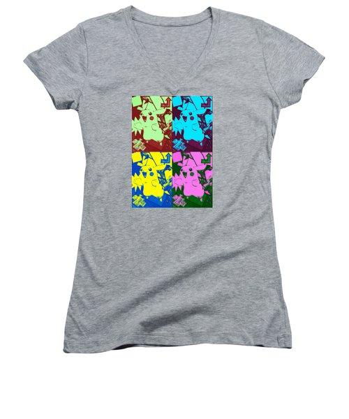 Pokemon - Pikachu Women's V-Neck T-Shirt