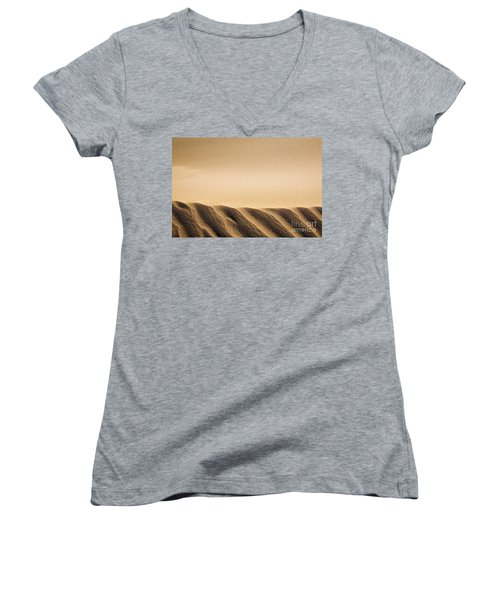 Sand Dunes Women's V-Neck T-Shirt