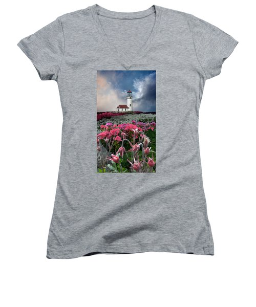 4170 Women's V-Neck T-Shirt