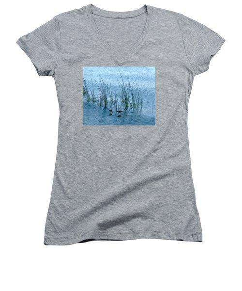 4177 Women's V-Neck T-Shirt (Junior Cut) by Peter Holme III