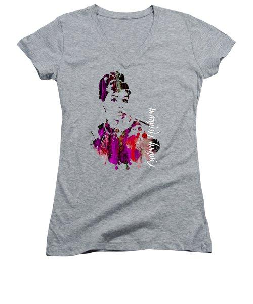Audrey Hepburn Collection Women's V-Neck (Athletic Fit)