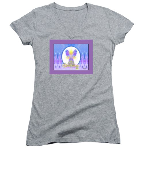 444 Justice #197 Women's V-Neck T-Shirt