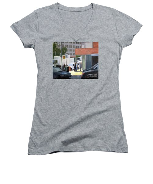 44th And 4th Women's V-Neck (Athletic Fit)