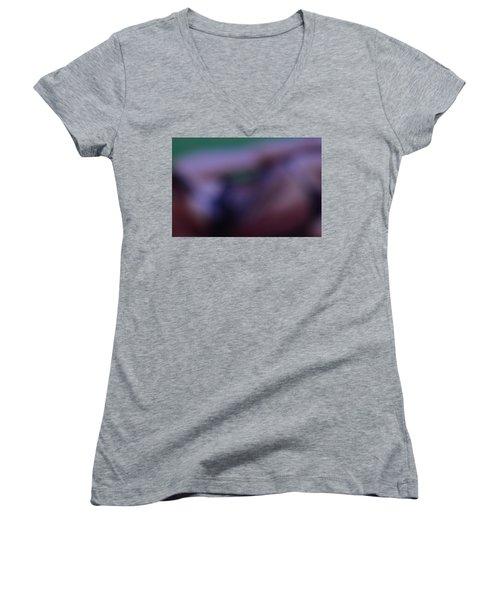 Abstract Photography Women's V-Neck T-Shirt (Junior Cut) by Allen Beilschmidt