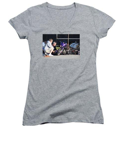 Man Cup 08 2016  Women's V-Neck T-Shirt