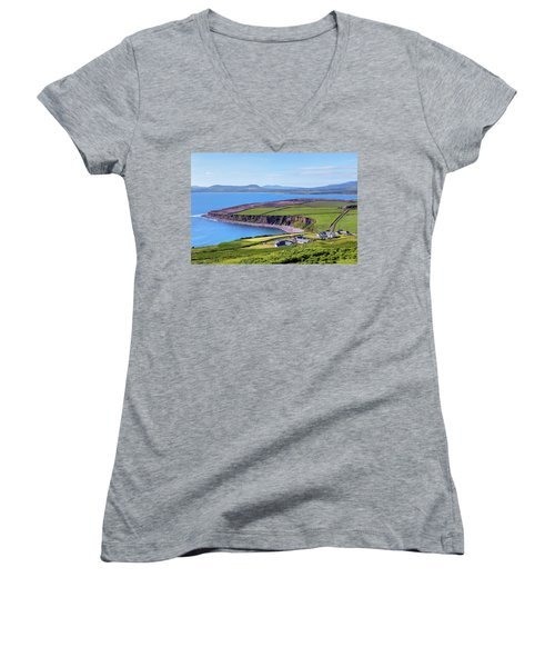Ring Of Kerry - Ireland Women's V-Neck (Athletic Fit)