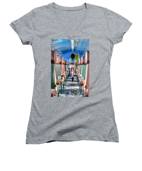 Take A Litte Trip Women's V-Neck T-Shirt