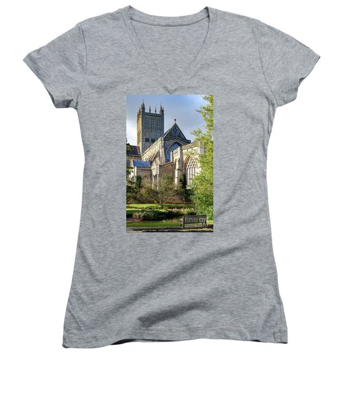 Wells Cathedral Women's V-Neck