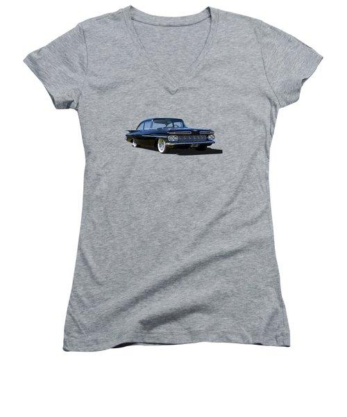 59 Black Women's V-Neck T-Shirt