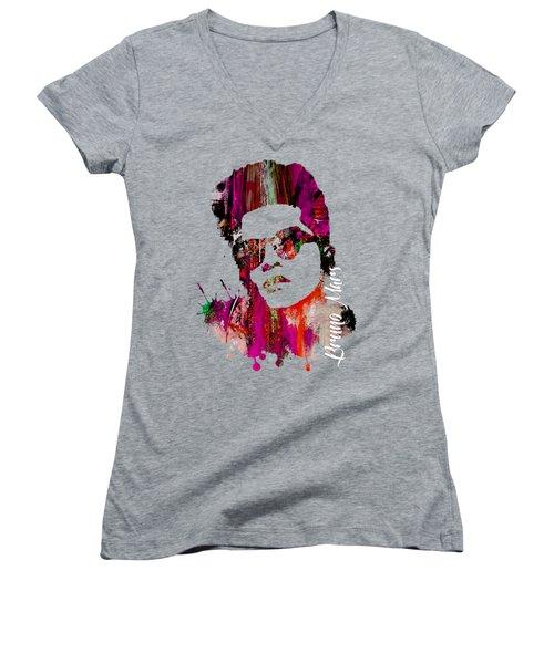Bruno Mars Collection Women's V-Neck T-Shirt