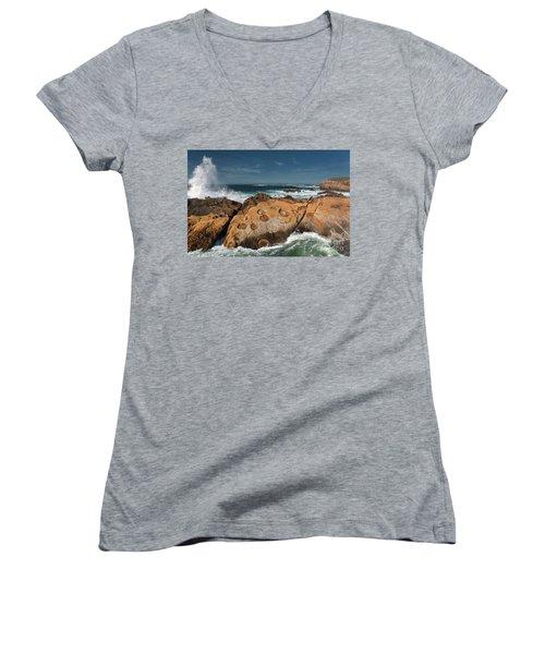 Point Lobos Concretions Women's V-Neck T-Shirt