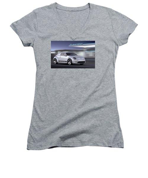 Volkswagen Women's V-Neck
