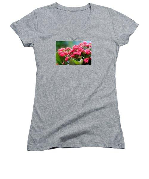 Flower Edition Women's V-Neck (Athletic Fit)