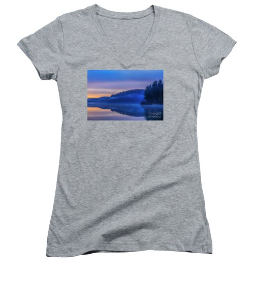 Winter Dawn Women's V-Neck T-Shirt