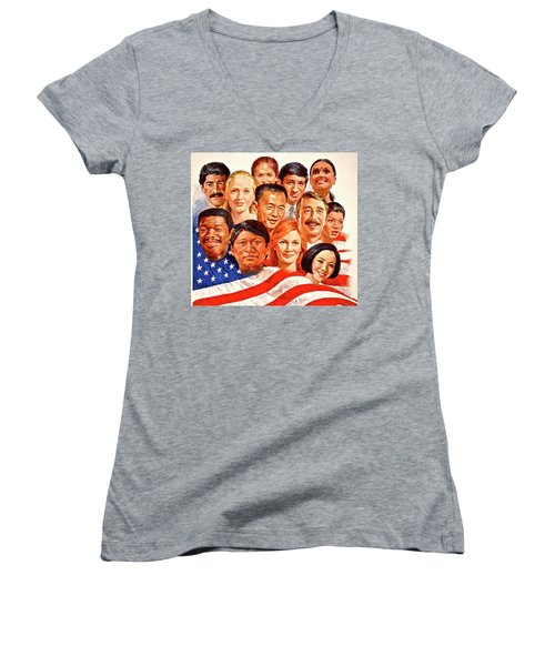 A Beautiful Day In The Neighborhood  Women's V-Neck