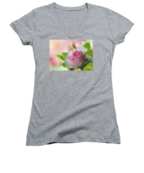 A Beautiful Rose Women's V-Neck
