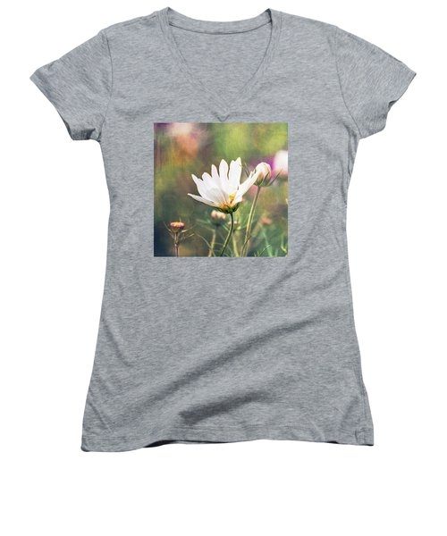 A Bouquet Of Flowers Women's V-Neck