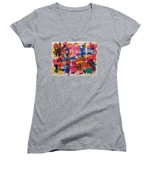 A Busy Life Women's V-Neck