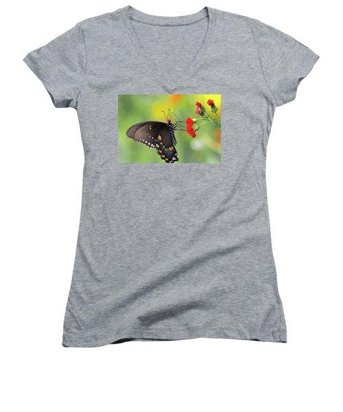 A Butterfly  Women's V-Neck