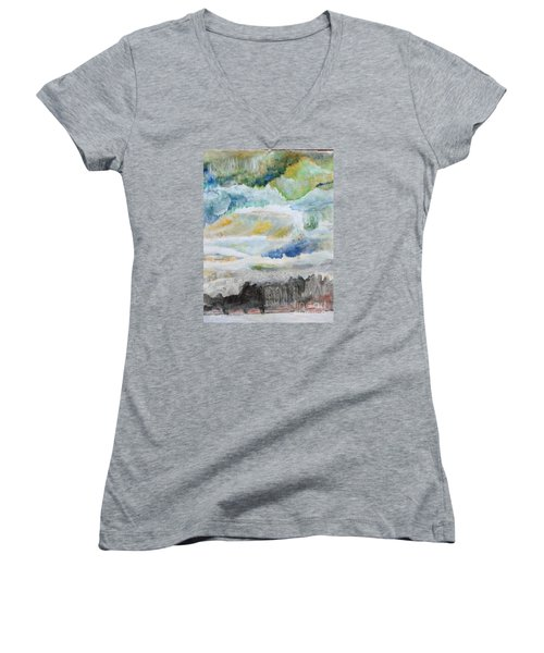 A Canvas I Seen Somewhere Women's V-Neck (Athletic Fit)