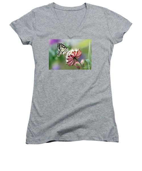A Delicate Touch Women's V-Neck