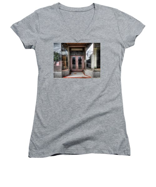 A Doorway In Port Jervis Women's V-Neck (Athletic Fit)