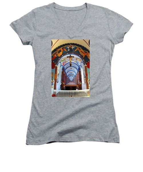A Father's Masterpiece Women's V-Neck