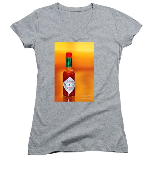 A Feeling Of Warmth Women's V-Neck T-Shirt
