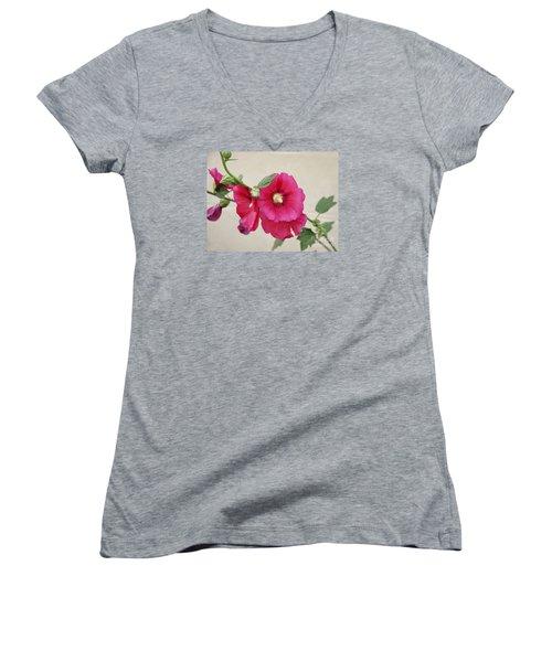 A Gentle Bloom Women's V-Neck