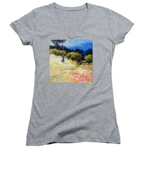 A Girl From Gran Porcon Women's V-Neck T-Shirt