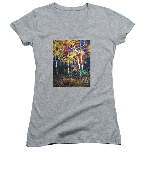 A Glance Of The Woods Women's V-Neck