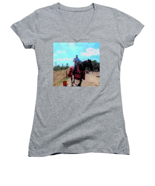 A Good Knight Women's V-Neck