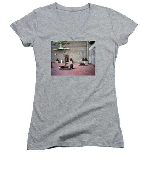 A Good Tree To Come To...to Read Women's V-Neck