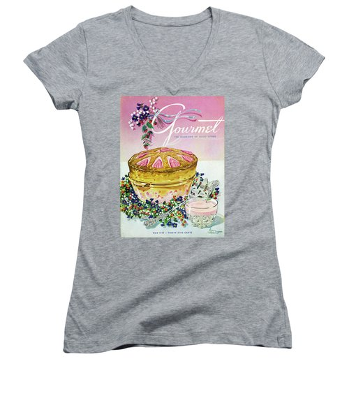 A Gourmet Cover Of A Souffle Women's V-Neck