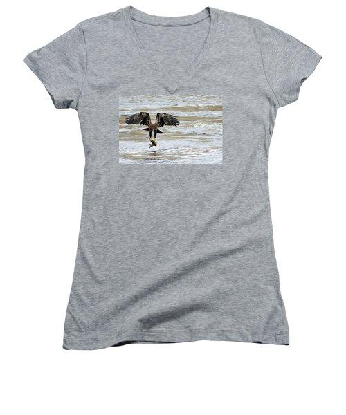 A Heavy Meal Women's V-Neck T-Shirt