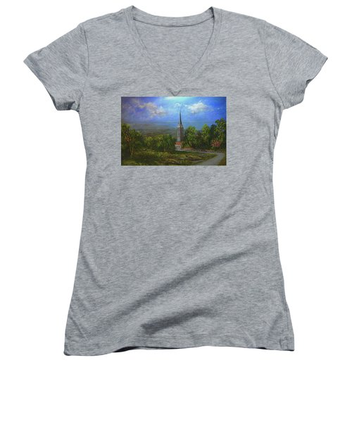 A Higher Place Women's V-Neck T-Shirt