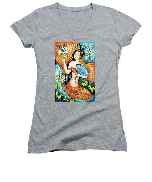 A Letter From Far Away Women's V-Neck