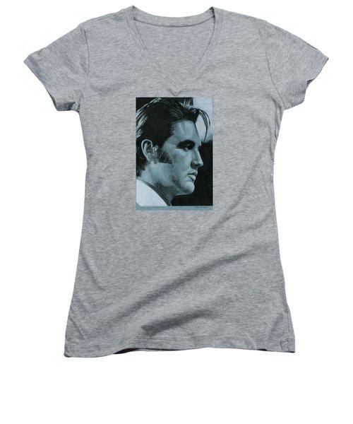 A Little Less Conversation Women's V-Neck T-Shirt