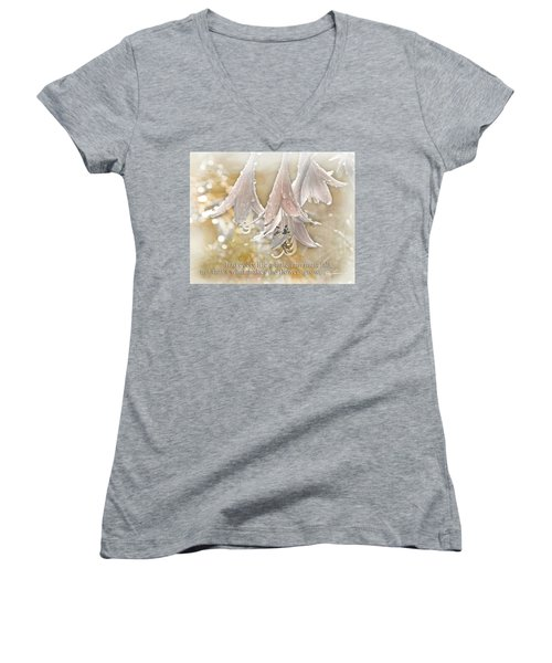 A Little Rain Women's V-Neck