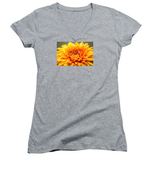 A Little Time To Think Things Over Women's V-Neck T-Shirt (Junior Cut) by Wade Brooks
