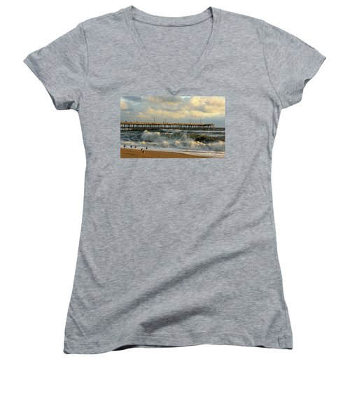 A Little Too Rough Women's V-Neck T-Shirt