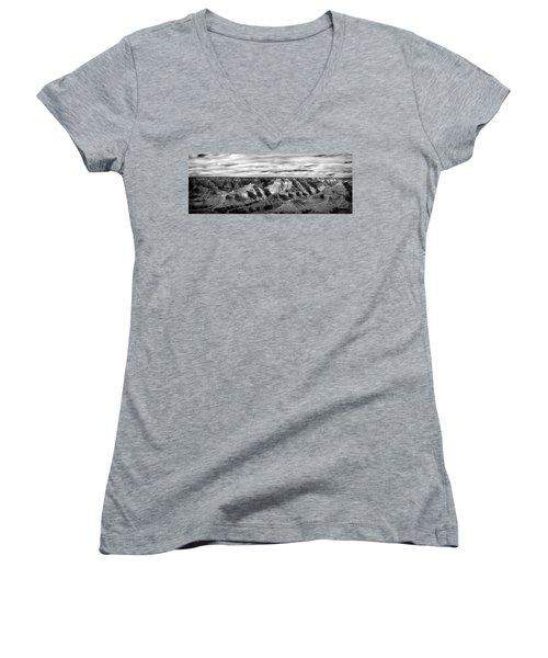 A Maze Women's V-Neck T-Shirt (Junior Cut) by Jon Glaser