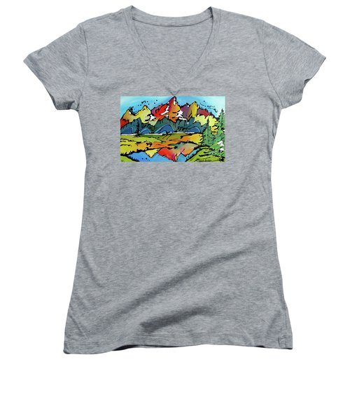 A Memory Women's V-Neck T-Shirt