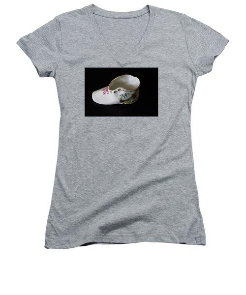 A Miniature Women's V-Neck T-Shirt